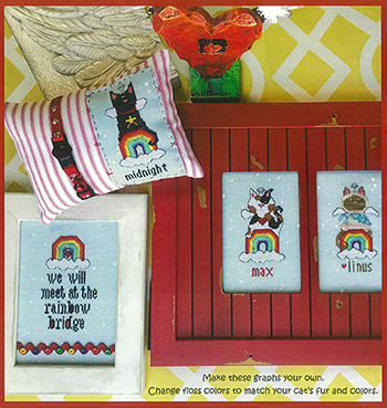 Amy Bruecken Designs - The Rainbow Bridge - Cat Friends MAIN