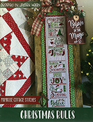Primrose Cottage Stitches - Christmas Rules THUMBNAIL