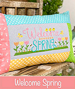 Primrose Cottage Stitches - Welcome Spring THUMBNAIL