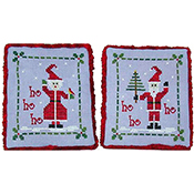 Praiseworthy Stitches - Mr. and Mrs. Claus THUMBNAIL