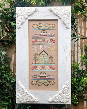 Country Cottage Needleworks - Sampler of the Month - June MAIN