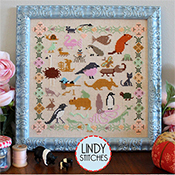 Lindy Stitches - Funky Menagerie THUMBNAIL