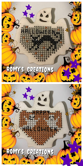 Romy's Creations - Stitch In Wood - Ghost MAIN
