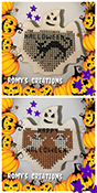 Romy's Creations - Stitch In Wood - Ghost THUMBNAIL