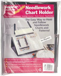 Prop-It Magnetic Needlework Chart Holder w/ Magnifier_MAIN