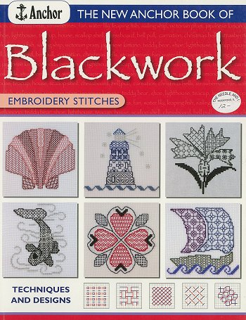 Anchor - Blackwork Techniques and Designs Book