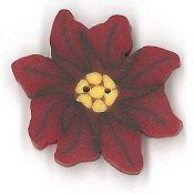 Jabco Button - 2284 Poinsettia THUMBNAIL