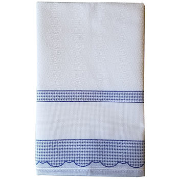 Madagascar Kitchen Towel - Blue THUMBNAIL