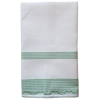 Madagascar Kitchen Towel - Green THUMBNAIL