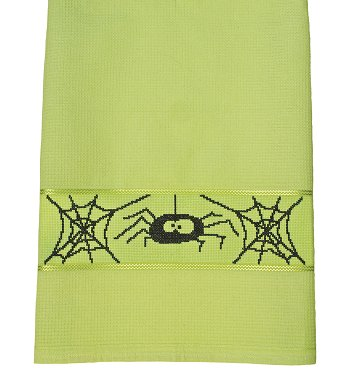 Milano Kitchen Towel - Lime