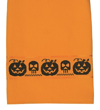 Milano Kitchen Towel - Orange