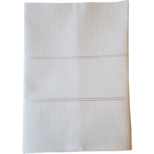 Milano Kitchen Towel - White THUMBNAIL