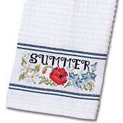 Nancy Kitchen Towel - Blue