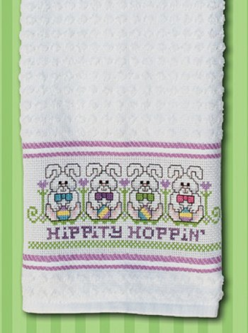 Nancy Kitchen Towel - Lilac
