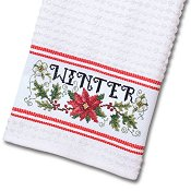 Nancy Kitchen Towel - Red