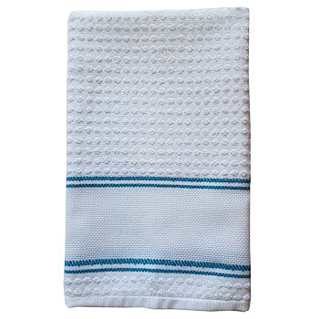 Nancy Kitchen Towel - Turquoise THUMBNAIL