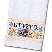 Nancy Kitchen Towel - Yellow_THUMBNAIL