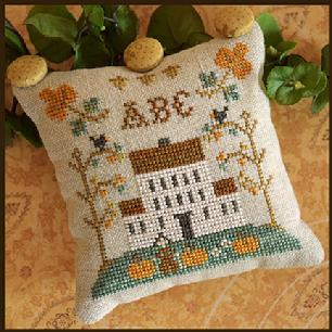 Little House Needleworks - ABC Samplers 1 - A B C MAIN