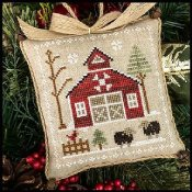 Little House Needleworks - Farmhouse Christmas 9 - Baa Baa Black Sheep
