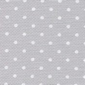 Aida 20ct Grey with White Dots