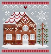 Shannon Christine Designs - Gingerbread House 1 THUMBNAIL