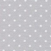 Aida 18ct Grey with White Dots