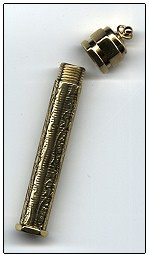 Brass Needle Case Embossed MAIN
