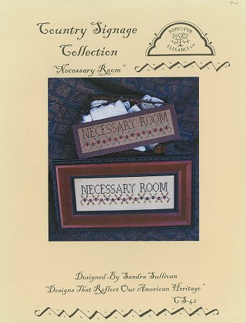 Country Signage Collection - Necessary Room