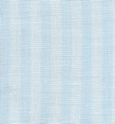 Fabric Flair Parisian Linen 28ct Blue Stripe