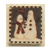 Mill Hill Button - 43101 Debbie Mumm - Snowbuddies Square Stamp