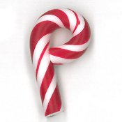 Jabco Button - 4403 Candy Cane THUMBNAIL
