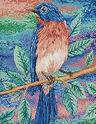 Bucilla Kit - Blue Bird on a Branch