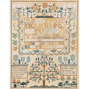 Bucilla Heirloom Kit - Esther Copp Sampler 1765