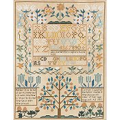 Bucilla Heirloom Kit - Esther Copp Sampler 1765 THUMBNAIL