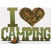 Bucilla Kit - I Love Camping (S)