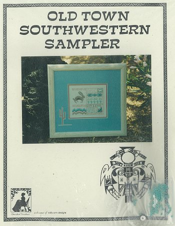 Cherished Needleart - Old Town Southwestern Sampler