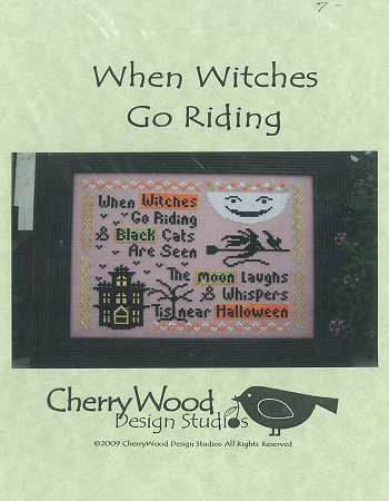 Cherry Wood Design Studios - When Witches Go Riding