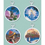 The Disney Dreams Collection - Pinocchio (Set of 4 Cross Stitch Mini Vignettes)