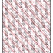 Fabric Flair Candy Stripes Pink Evenweave 28ct