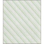 Fabric Flair Candy Stripes Green Evenweave 28ct