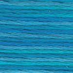 DMC 5 Pearl Cotton Color Variations 4022 Mediterranean Sea THUMBNAIL