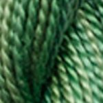 DMC 5 Pearl Cotton Color Variations 4045 Evergreen Forest THUMBNAIL