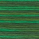DMC 5 Pearl Cotton Color Variations 4047 Emerald Isle MAIN