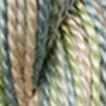 DMC 5 Pearl Cotton Color Variations 4065 Morning Meadow THUMBNAIL