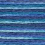 DMC 5 Pearl Cotton Color Variations 4237 Laguna Blue THUMBNAIL