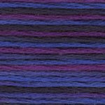 DMC 5 Pearl Cotton Color Variations 4245 Mystical Midnight THUMBNAIL