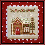 Country Cottage Needleworks - Gingerbread Village #9 - Gingerbread House 6 THUMBNAIL
