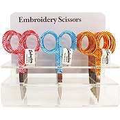 "Allary Patterned Scissors 4"" Assorted Colors"