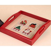 Sudberry House - Small Square Tray Red