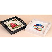 Sudberry House - Small Square Tray White Gloss THUMBNAIL